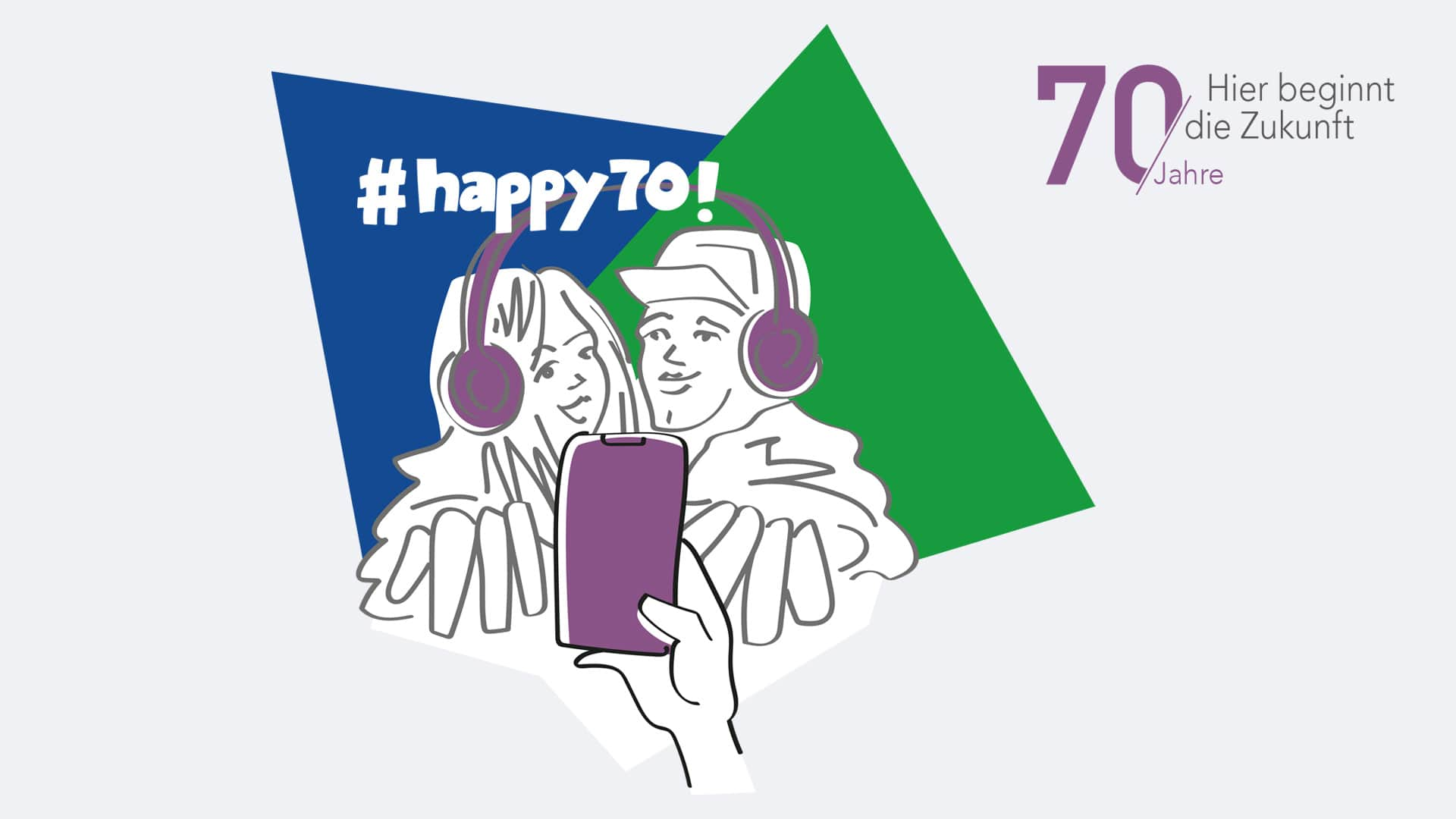 """70. Geburtstag der Versicherungsausbildung: Feier mit bei """"happy70"""""""